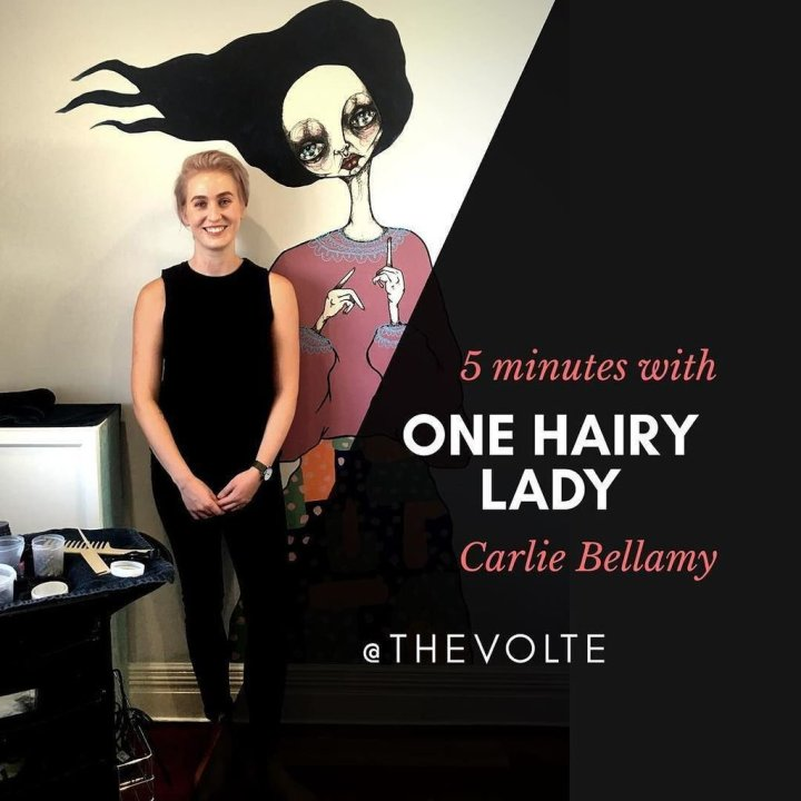 5 Minutes with: Carlie Bellamy from One Hairy Lady