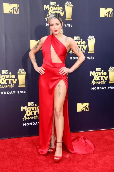 MTV Movie & TV Awards, Arrivals, Los Angeles, USA - 16 Jun 2018